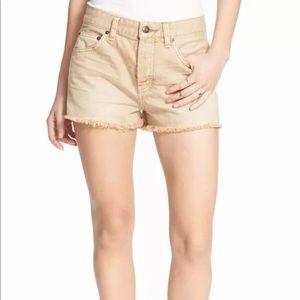 Free People Shorts 31 Tan